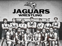 Jags wrestling posters & Buttons 2016-17
