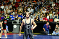IHSAA State Wrestling (2-17-17) Semi & 3rd rd Cons.